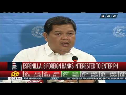 8 foreign banks interested to enter PH, says incoming BSP governor