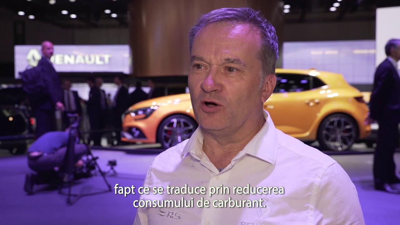 Salonul Auto de la Frankfurt 2017: Interviu cu Philippe Varet, Chief Engineer Renault