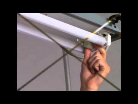 Come cambiare un neon lampada fluorescente in sicurezza