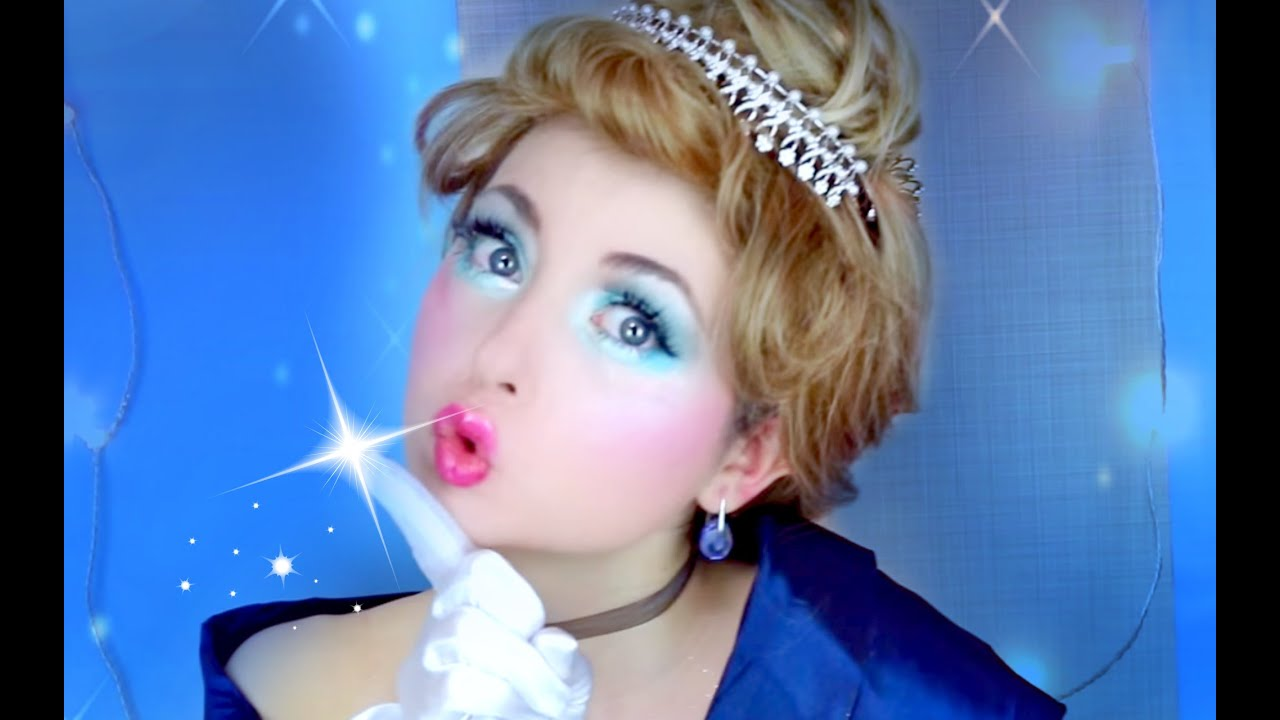 disneys cinderella princess makeup �� youtube