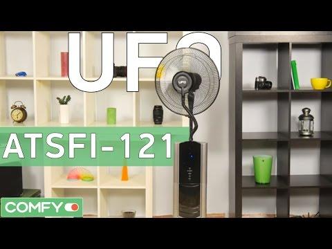 UFO ATSFI-121 - вентилятор, увлажнитель и ионизатор - Видео демонстрация