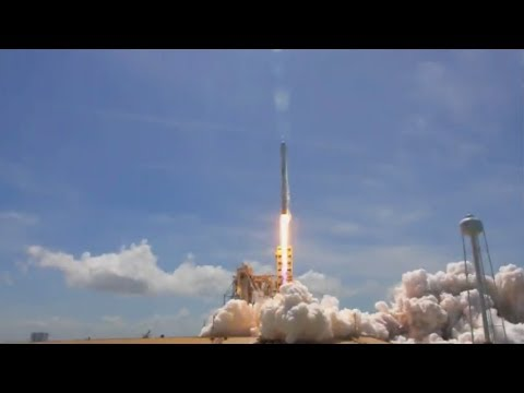 SpaceX Falcon 9 launches BulgariaSat-1, 23 June 2017