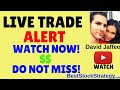 Options Trading LIVE Trade Alert *NEW*