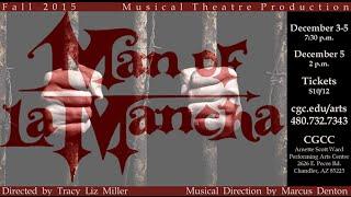CGCC Theater Man of La Mancha