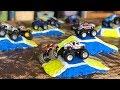 DIY Monster Jam Toy Track & Jumps For Hot Wheels Trucks