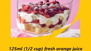 Recipe Strawberry And Raspberry Trifle