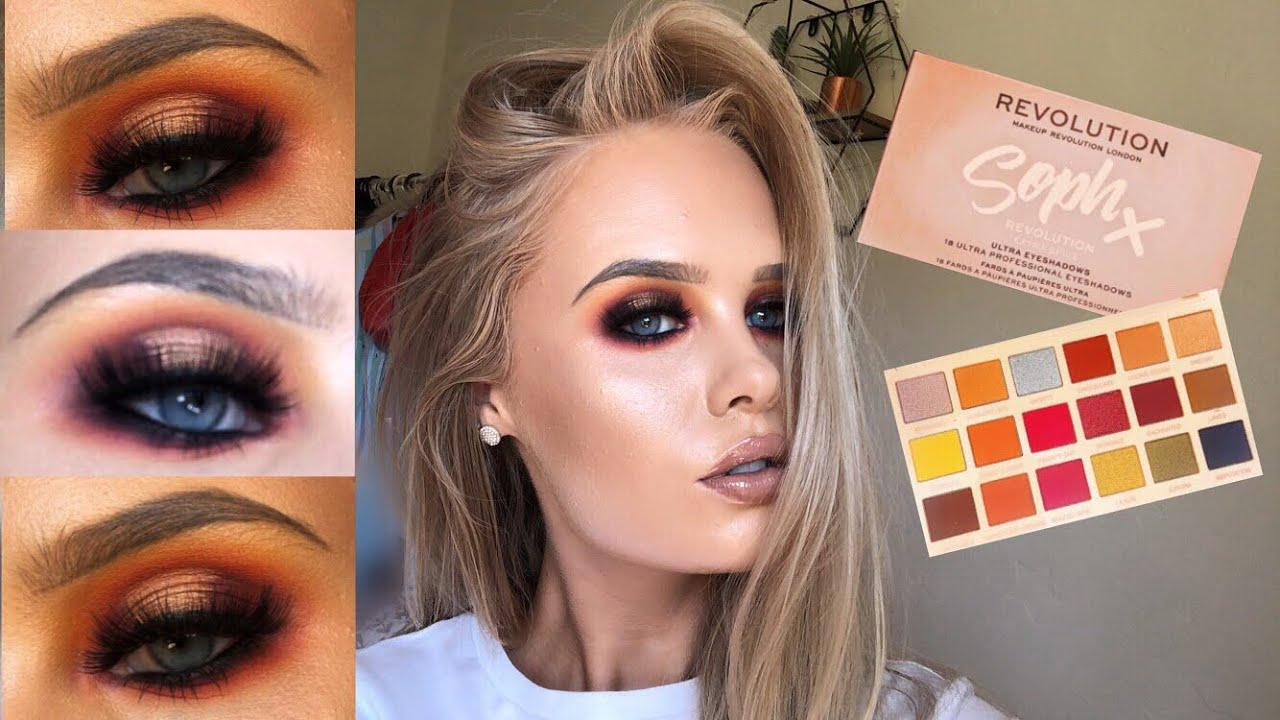 Soph x makeup revolution spice