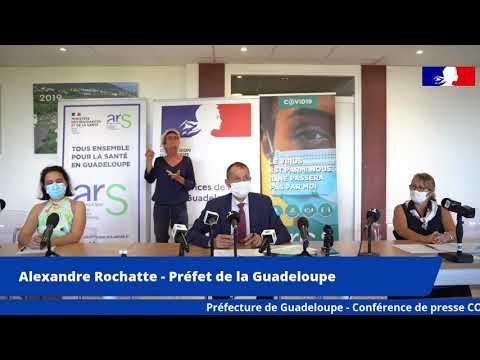 Conférence de presse covid-19 - mercredi 5 mai 2021