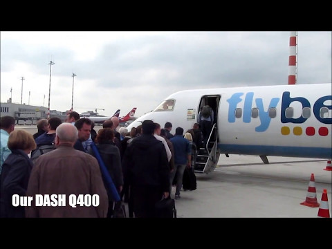 FLIGHT REPORT | ✈ DASH Q400 | FlyBe | Dusseldorf to Manchester | Economy Class