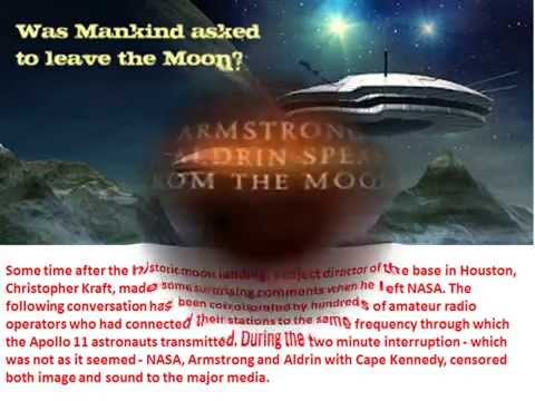 Neil Armstrong Saw Aliens on Moon Proof (2 Min Controversial Tape)