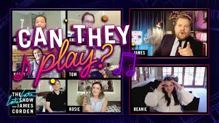 Can You Play That Instrument? w/ Beanie Feldstein
