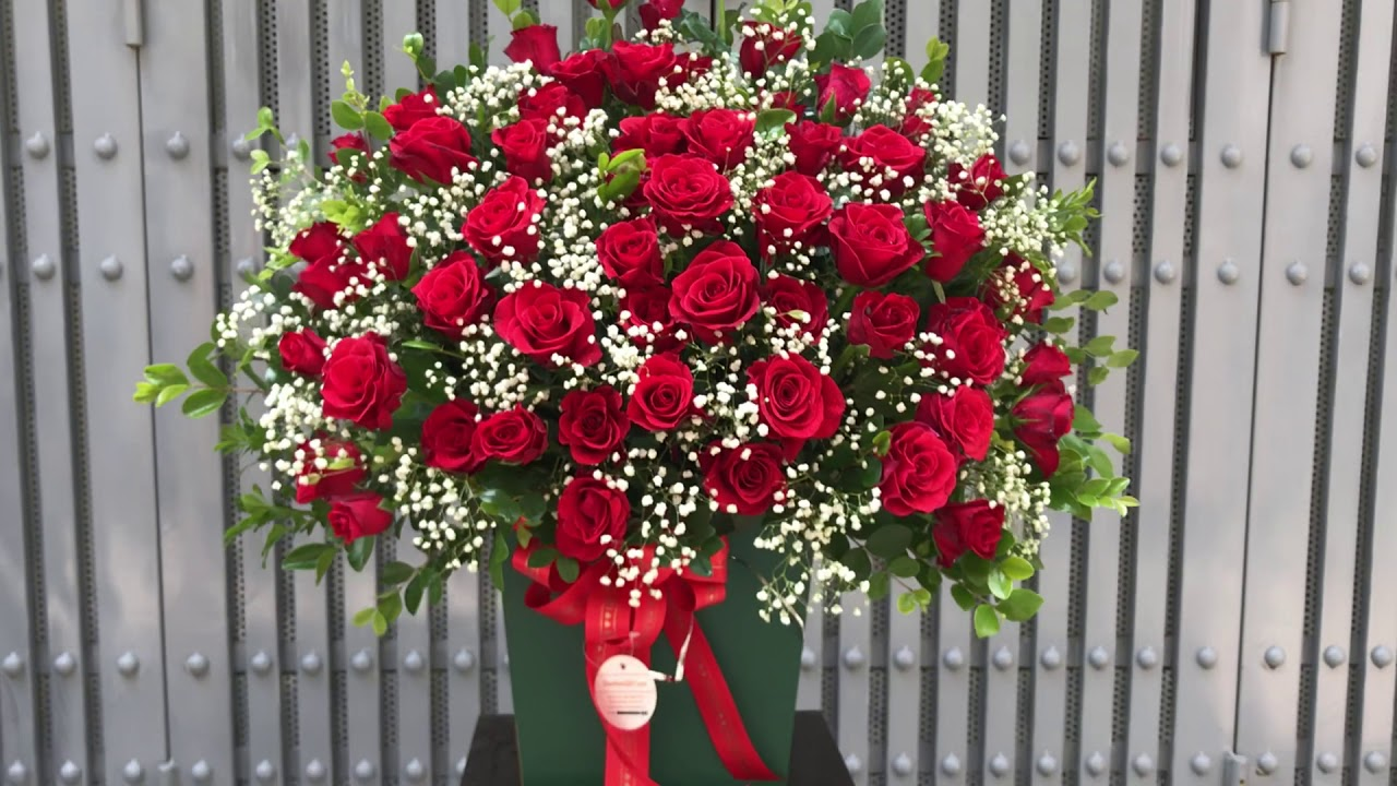 Mẫu giỏ hoa tặng sinh nhật đẹp | hoa tươi chúc mừng | hoa tươi 360 | dienhoa360