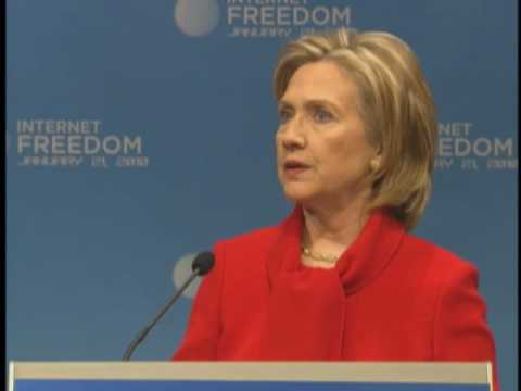 Secretary Clinton Speaks on Internet Freedom