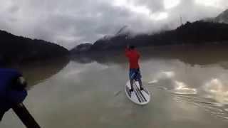 Sup session 09 novembre 2014 Lago Centro Cadore BL