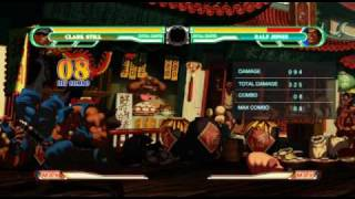 King of Fighters XII Combo Exhibition