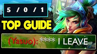 Riven Strikes again! Enemy Top has Ragequit FF'd ;) - S10 Riven Gameplay Guide