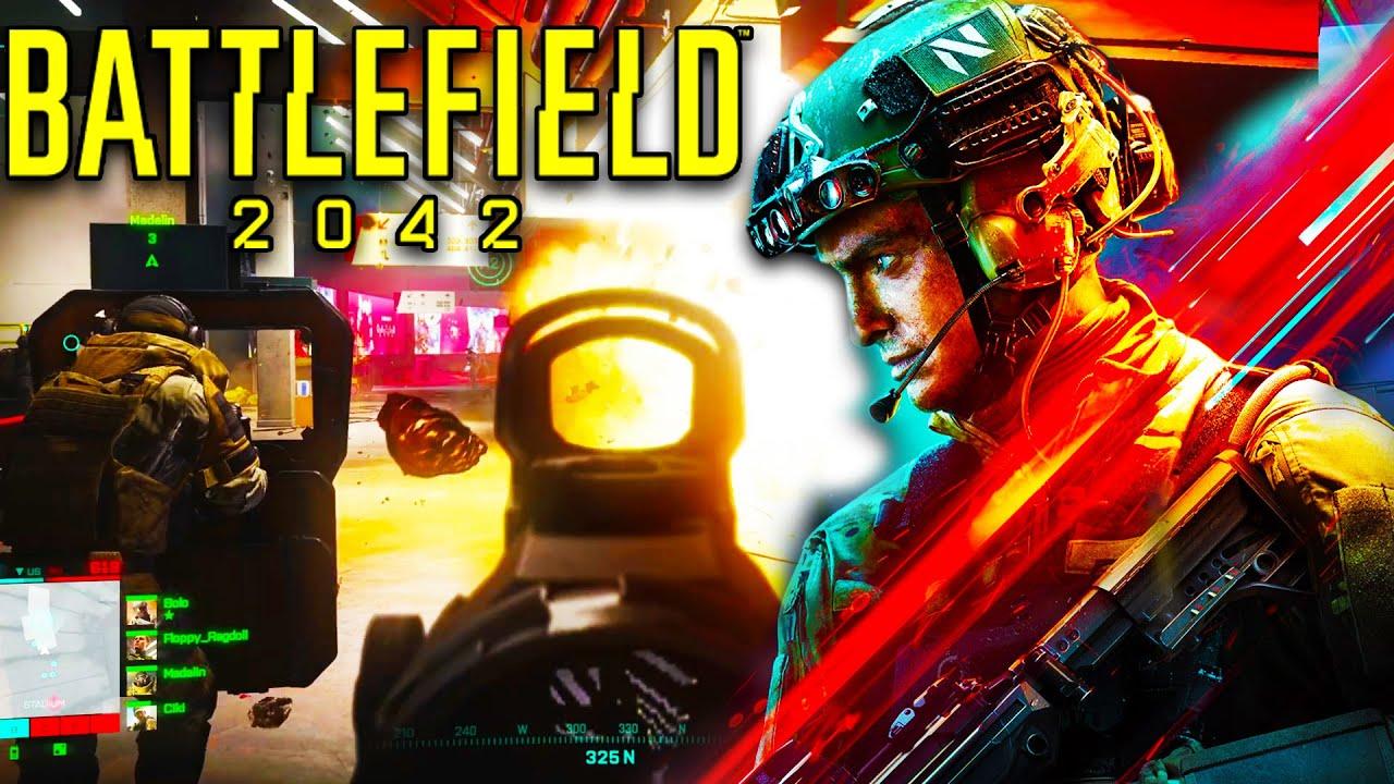 NEW BATTLEFIELD 2042 GAMEPLAY EXCLUSIVE Details! - AntiCheat, Crossplay & AI!