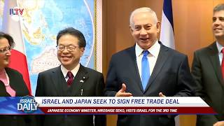 Israel and Japan seek to sign free trade deal