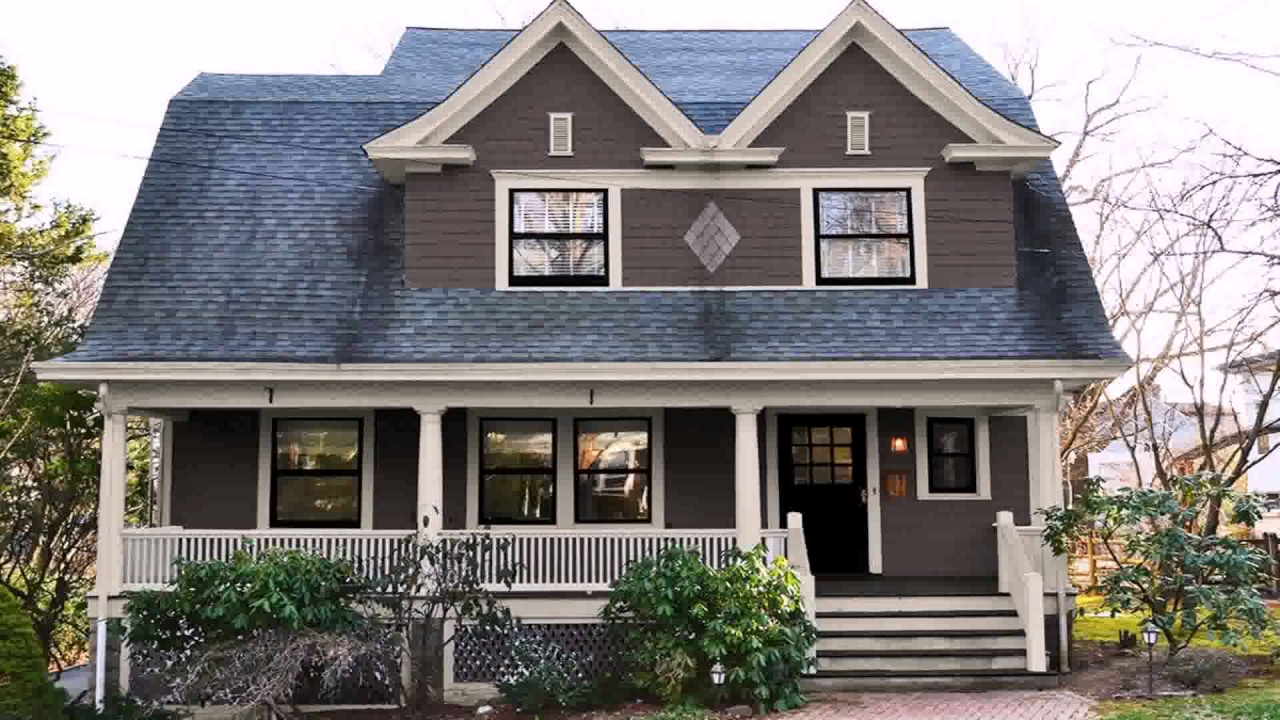 Exterior House Colors For Colonial Style Homes See
