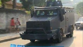Polícia Militar ocupa morro do Urubu em Pilares (RJ)
