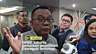 DPRD Jakarta putuskan pemilihan Cawagub tertutup