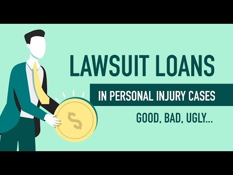 Should I Take A Lawsuit Loan In My Personal Injury Case?...Good, Bad, UGLY.. 312-500-4500 - 24 Hours