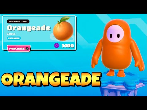 Fall Guys Item Shop ORANGEADE!!! [MARCH 17TH, 2021] (Fall Guys Ultimate Knockout)