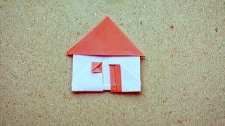 Cara Membuat Origami Rumah Sederhana/ How to Make Easy Origami House Tutorial (Hadi Tahir)