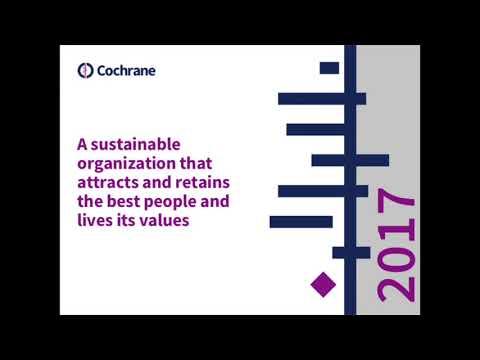 Cochrane AGM 2017: Chief Executive Officer Report