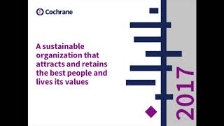 Cochrane AGM 2017: Chief Executive Officer Report