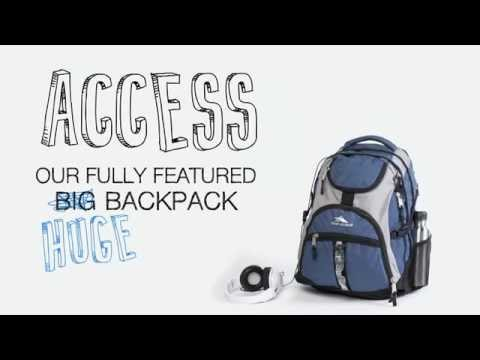 "High Sierra Notebook 17"" Access Backpack"