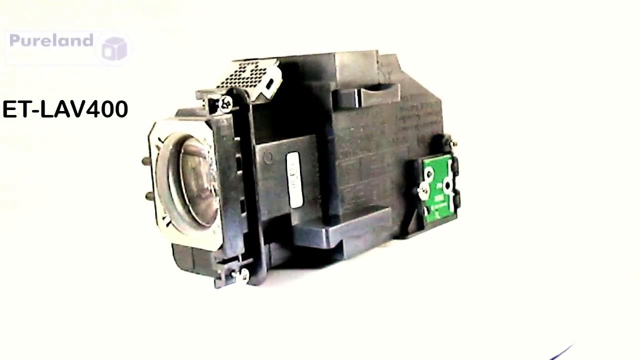 PANASONIC ET-LAV400 ETLAV400 LAMP FOR MODELS PT-VX605N PT-VZ570 PT-VZ575NU