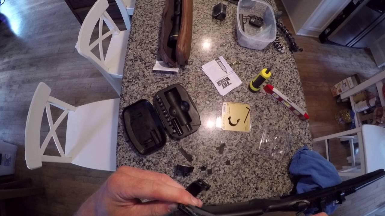 quantité limitée style limité 50-70% de réduction Montage de colliers Leupold QRW sur lunette de chasse - Leupold QRW rings  mount