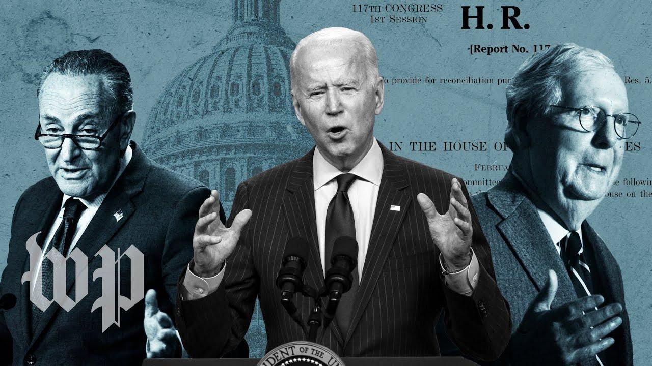As Biden calls for unity, he is using a legislative process that requires no Republican votes