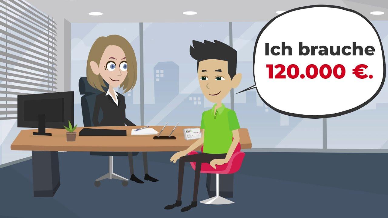 Deutsch lernen | Ich brauche GELD von der Bank