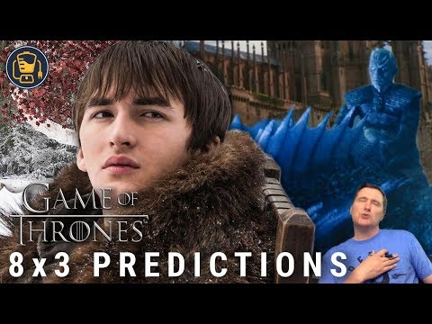 Game Of Thrones Predictions   8x3 Winterfell Battle