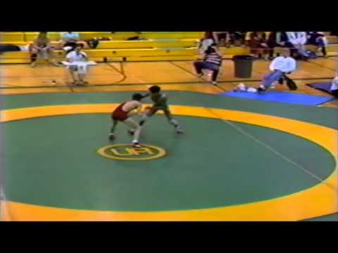 1989 Senior National Championships: 48 kg Tom Petryshen vs. Imran Akhtar