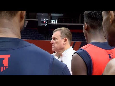 Brad Underwood Mic'd Up Sneak Peek | 2018-19 Illini MBB Preview Show