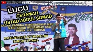 [PART 1] LUCU Ceramah Ustad Abdul Somad Terbaru 2019 di Labuhanbatu Selatan
