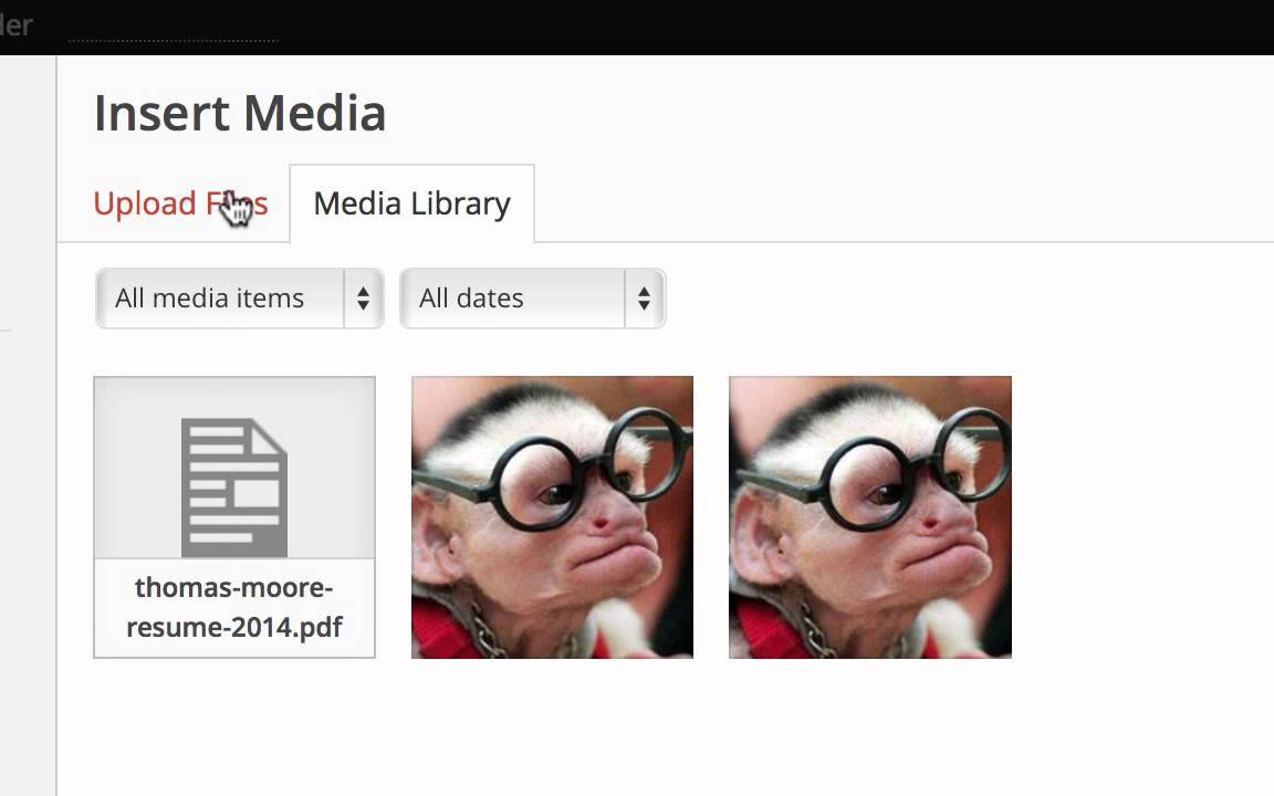 E Portfolio Tutorial Uploading Your Resume Youtube