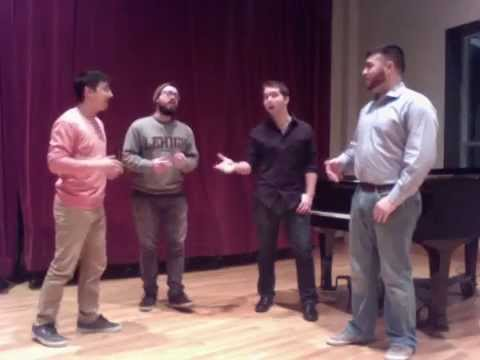 Lida Rose/Will I Ever Tell You (The Music Man) - Lambertones rehearsal