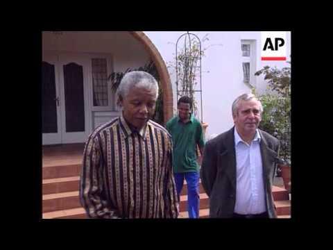 South Africa-Mandela & De Klerk On Indemnity