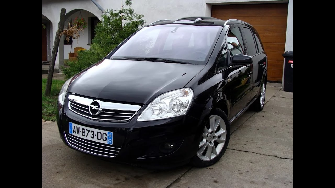 opel zafira 1 9 cdti cosmo pack 2008 140000 km youtube. Black Bedroom Furniture Sets. Home Design Ideas