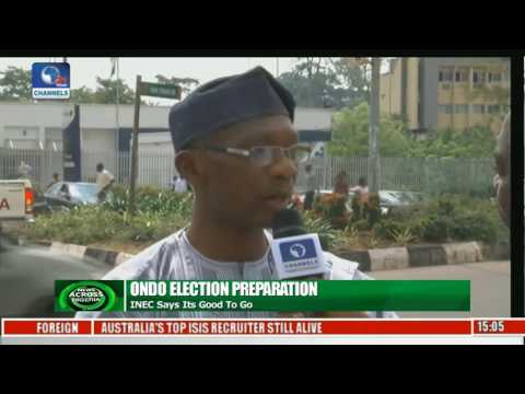 News Across Nigeria: Owo Boils Amisdt Calls For Election Postponement In Ondo
