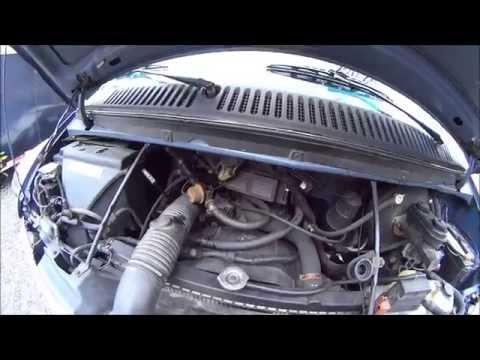 Dodge Van Heat Not Working - Fresh Air Intake Diaphragm Stuck Open - FREE REPAIR