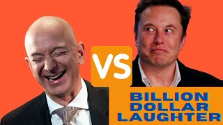BILLION DOLLAR LAUGHTER: Jeff Bezos vs Elon Musk. Best compilation 2021