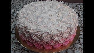 Торт Сникерс быстрое оформление