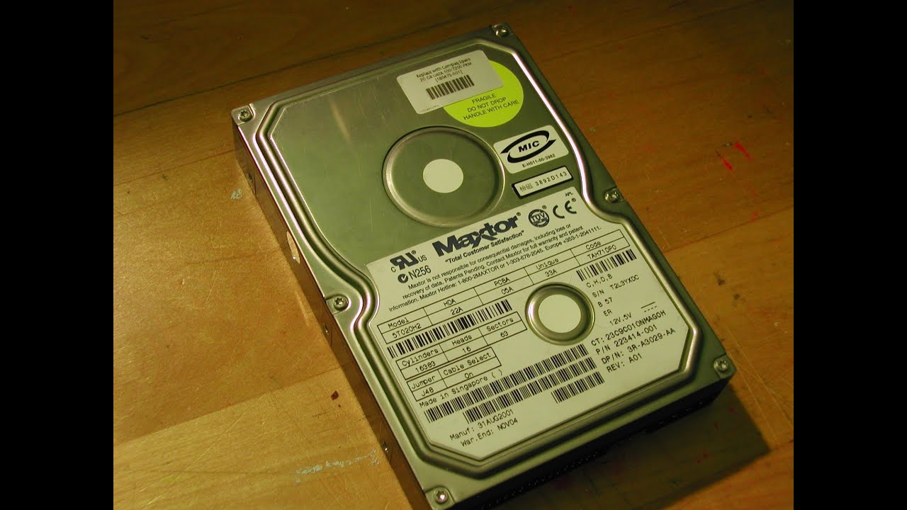 MAXTOR 5T020H2 DRIVER FOR PC
