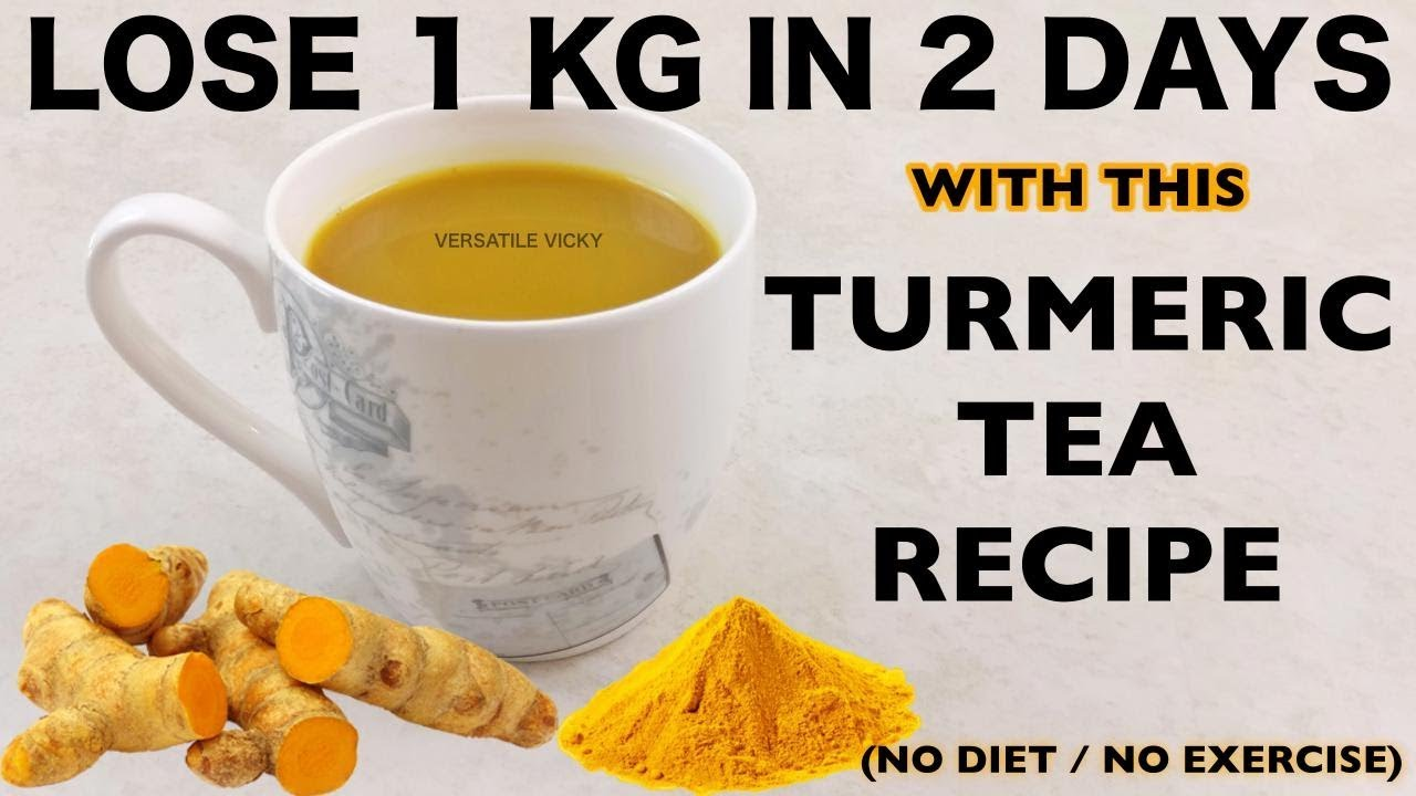 how to use turmeric to reduce belly fat