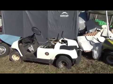 Auction Buyer Beware, Kawaski Mule, Golf Cart, Sunl ATV, Troy Built Brush Mower,